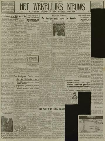 Het Wekelijks Nieuws (1946-1990) 1948-10-16