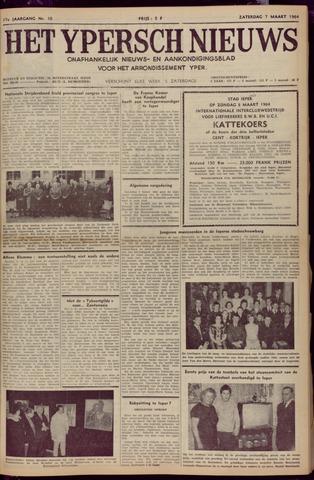 Het Ypersch nieuws (1929-1971) 1964-03-07