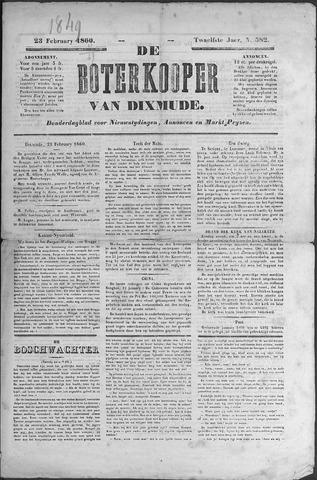 De Boterkoper 1860-02-23