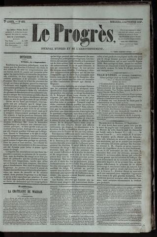 Le Progrès (1841-1914) 1847-09-02