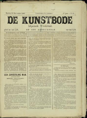 De Kunstbode (1880 - 1883) 1882-11-12