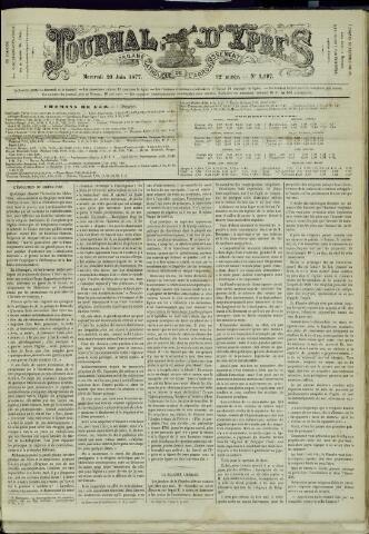 Journal d'Ypres (1874 - 1913) 1877-06-20