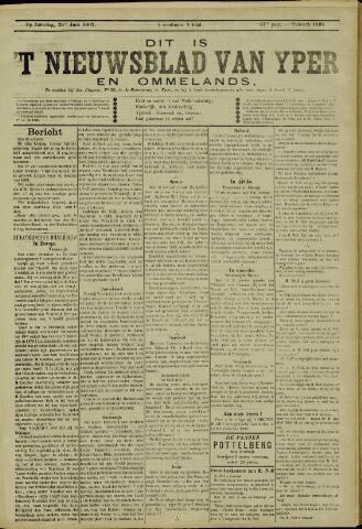 Nieuwsblad van Yperen en van het Arrondissement (1872 - 1912) 1902-06-28
