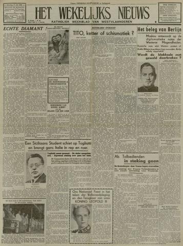 Het Wekelijks Nieuws (1946-1990) 1948-07-17