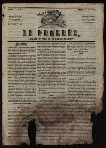 Le Progrès (1841-1914) 1841-08-15