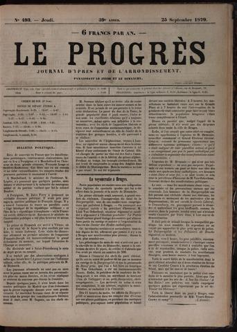 Le Progrès (1841-1914) 1879-09-25