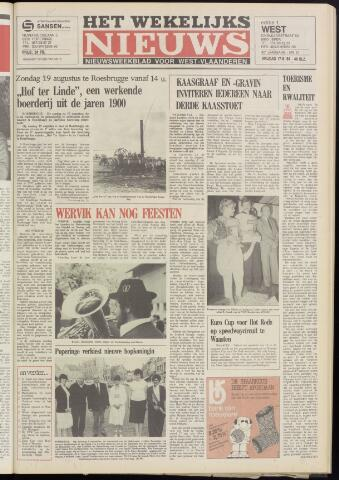Het Wekelijks Nieuws (1946-1990) 1984-08-17