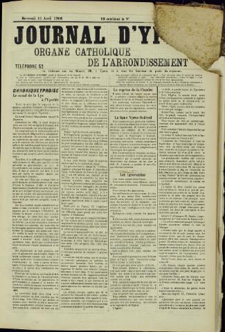 Journal d'Ypres (1874 - 1913) 1906-04-11
