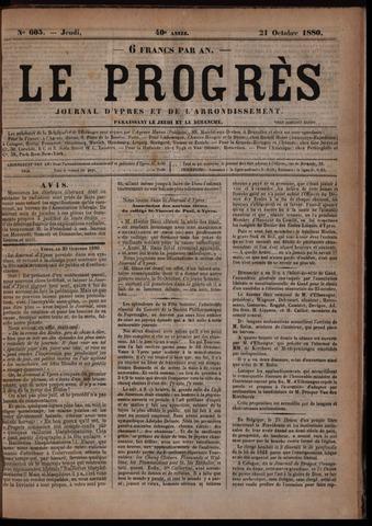 Le Progrès (1841-1914) 1880-10-21