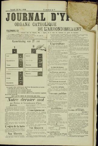 Journal d'Ypres (1874 - 1913) 1906-05-26