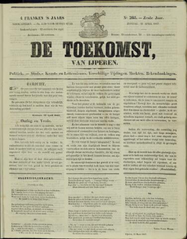 De Toekomst (1862 - 1894) 1867-04-21