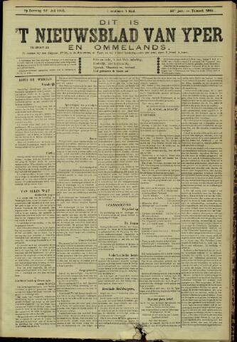 Nieuwsblad van Yperen en van het Arrondissement (1872 - 1912) 1905-07-22