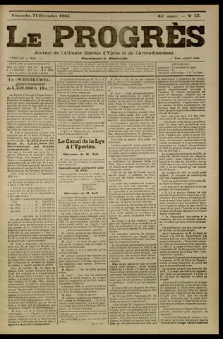 Le Progrès (1841-1914) 1905-12-31