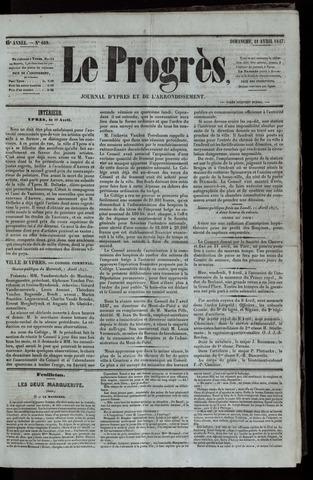 Le Progrès (1841-1914) 1847-04-11