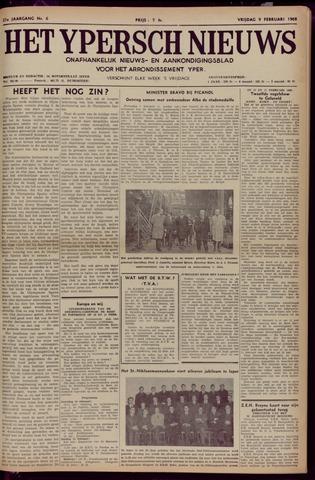 Het Ypersch nieuws (1929-1971) 1968-02-09