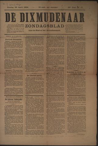 De Dixmudenaar 1894