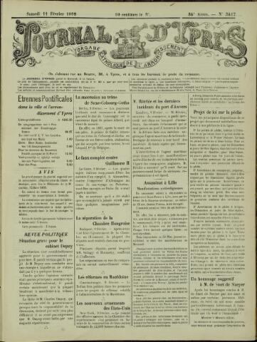 Journal d'Ypres (1874 - 1913) 1899-02-11