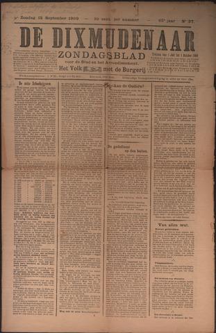 De Dixmudenaar 1909-09-12