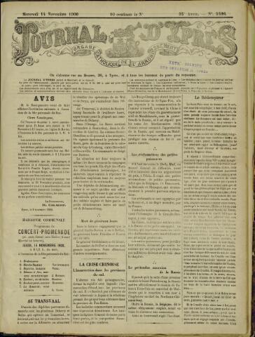 Journal d'Ypres (1874 - 1913) 1900-11-11