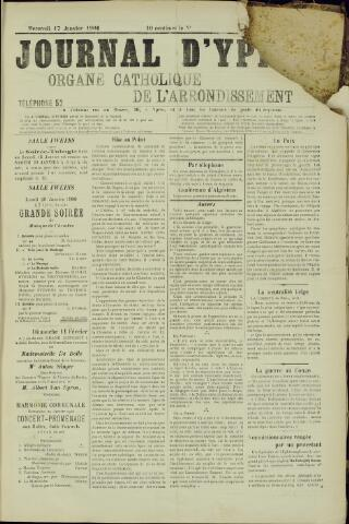 Journal d'Ypres (1874 - 1913) 1906-01-17