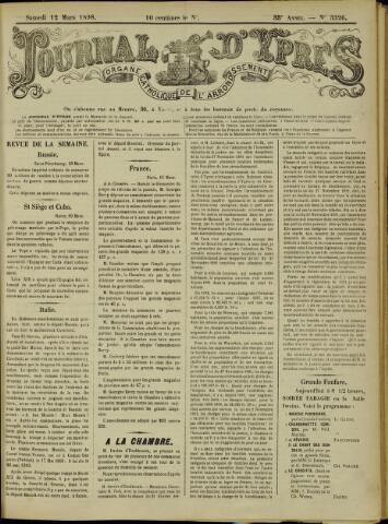 Journal d'Ypres (1874 - 1913) 1898-03-12