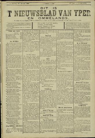 Nieuwsblad van Yperen en van het Arrondissement (1872 - 1912) 1902-01-11