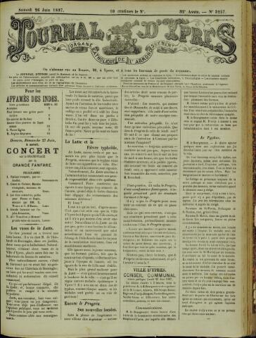 Journal d'Ypres (1874 - 1913) 1897-06-26