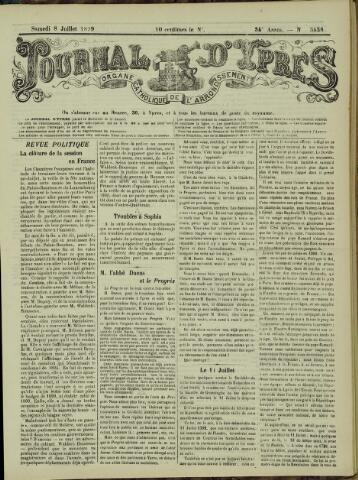 Journal d'Ypres (1874 - 1913) 1899-07-08