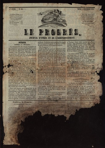 Le Progrès (1841-1914) 1841-12-02