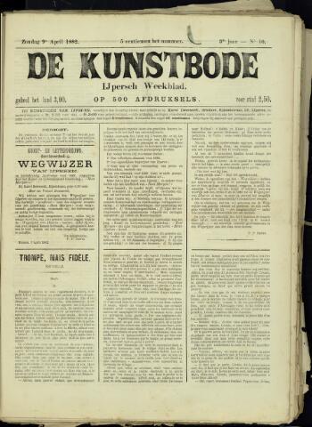 De Kunstbode (1880 - 1883) 1882-04-09