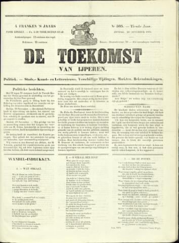 De Toekomst (1862 - 1894) 1871-11-26