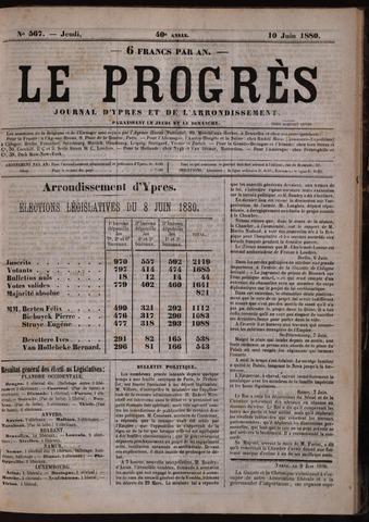 Le Progrès (1841-1914) 1880-06-10