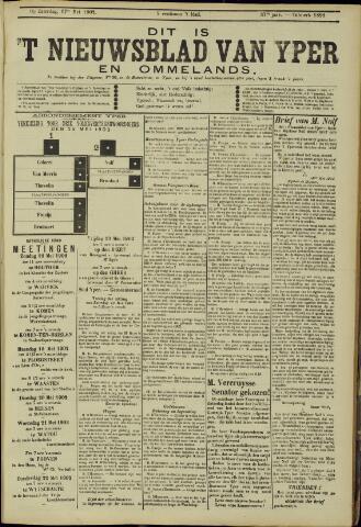 Nieuwsblad van Yperen en van het Arrondissement (1872 - 1912) 1902-05-17