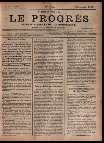 Le Progrès (1841-1914) 1897-09-09