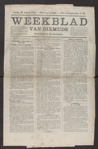 Weekblad van Dixmude 1879