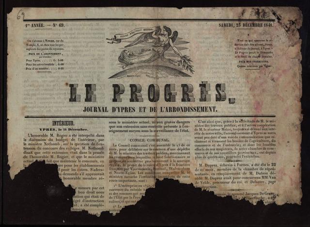 Le Progrès (1841-1914) 1841-12-25