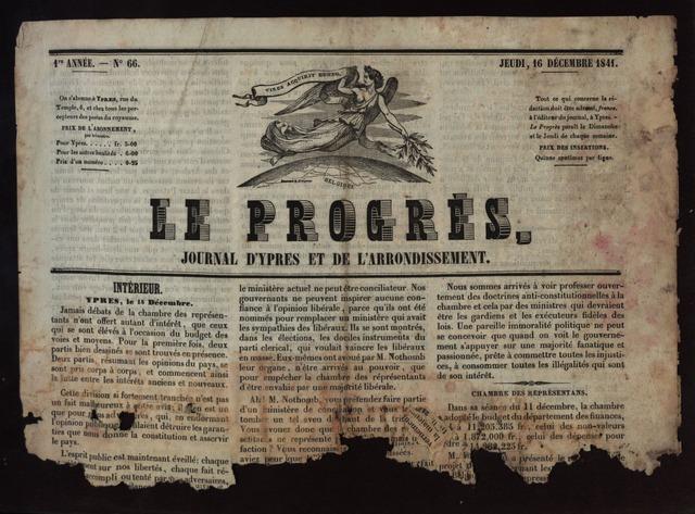 Le Progrès (1841-1914) 1841-12-16