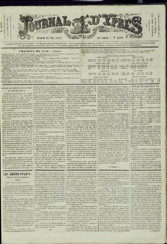 Journal d'Ypres (1874 - 1913) 1877-05-19
