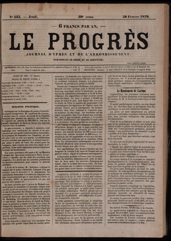Le Progrès (1841-1914) 1879-02-20