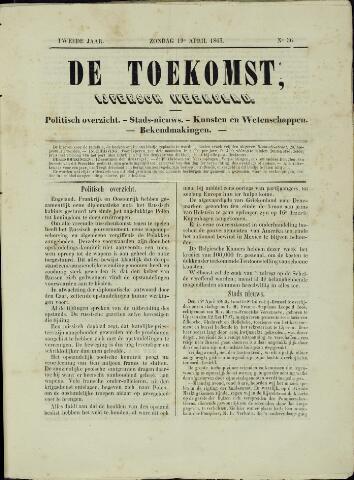 De Toekomst (1862 - 1894) 1863-04-19