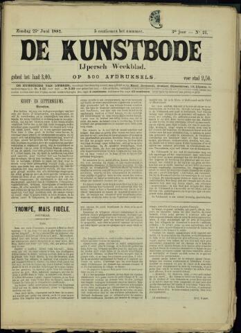 De Kunstbode (1880 - 1883) 1882-06-25