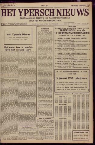 Het Ypersch nieuws (1929-1971) 1965-01-02