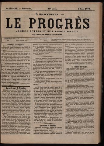 Le Progrès (1841-1914) 1879-03-02
