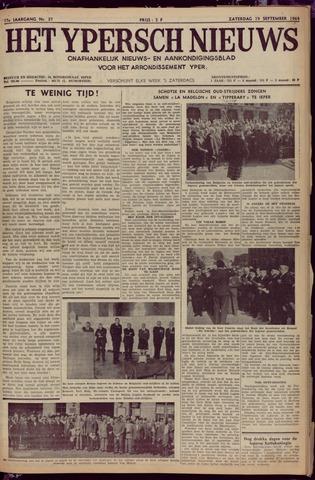Het Ypersch nieuws (1929-1971) 1964-09-19