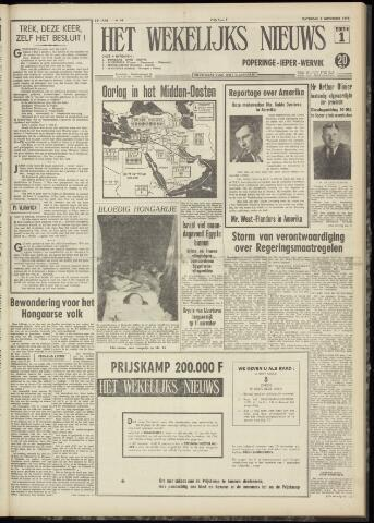 Het Wekelijks Nieuws (1946-1990) 1956-11-03