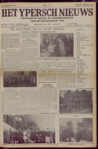 Het Ypersch nieuws (1929-1971) 1968-10-04