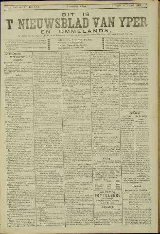 Nieuwsblad van Yperen en van het Arrondissement (1872 - 1912) 1902-07-26
