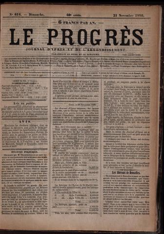 Le Progrès (1841-1914) 1880-11-21