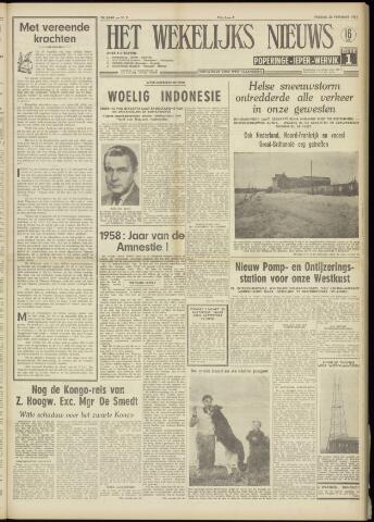 Het Wekelijks Nieuws (1946-1990) 1958-02-28