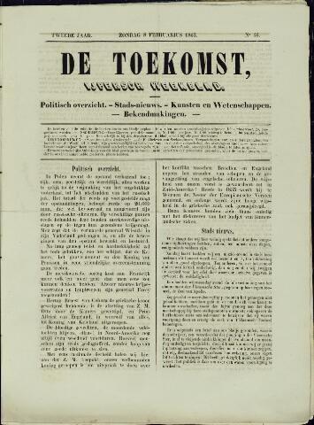 De Toekomst (1862 - 1894) 1863-02-08